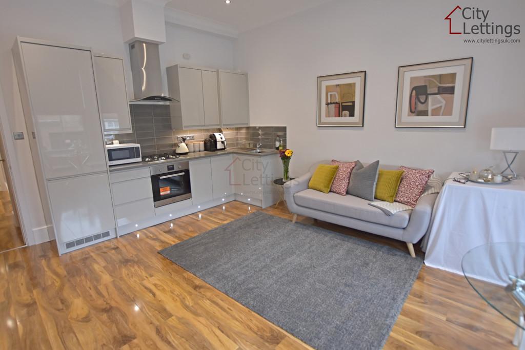 Large, modern ground floor flat